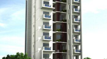 10 Storied Residence at Bashundhara RA, Dhaka